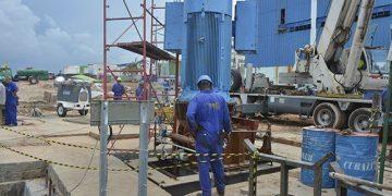 Central Termoeléctrica (CTE) Antonio Guiteras, en Matanzas. Foto: Roberto Jesús Hernández/ACN.