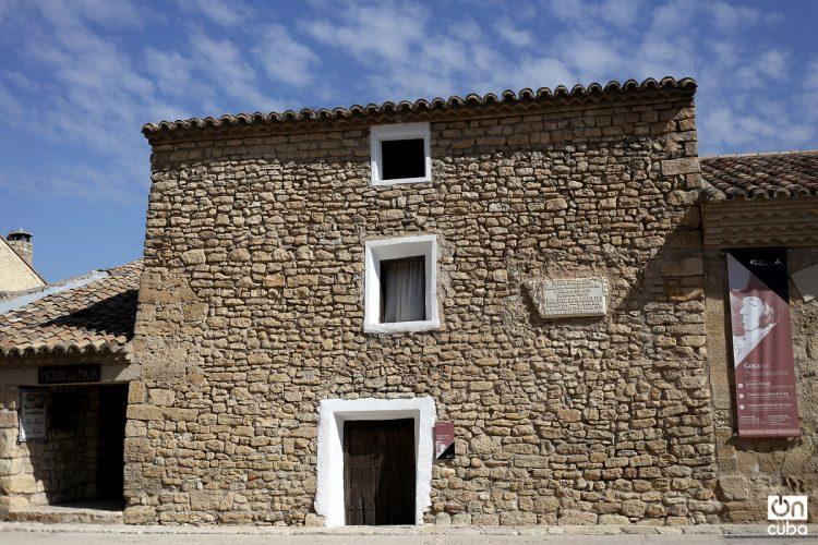 Casa donde nació Goya en Fuentedetodos. Foto: Alejandro Ernesto.