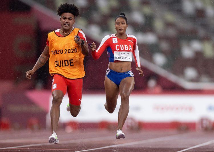 Omara Durand ya es la atleta paralímpica de Cuba con más títulos en la historia estival. Foto: EFE.