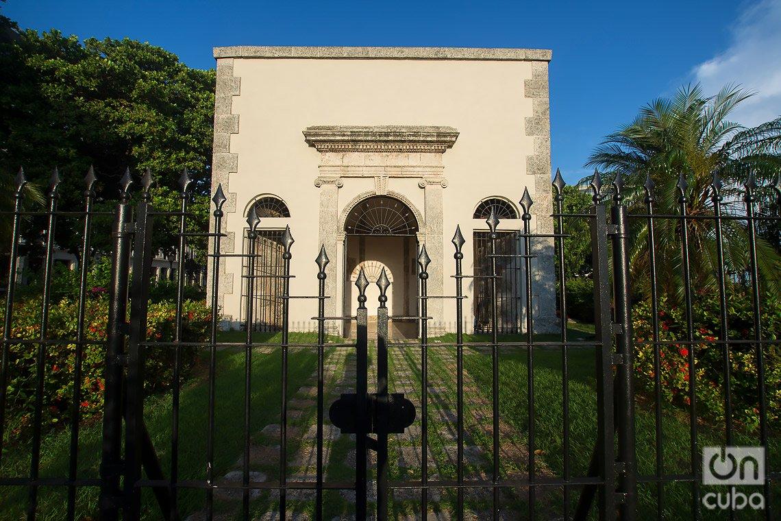 Capilla de la antigua cárcel de La Habana, cerca del Parque Máximo Gómez. Foto: Otmaro Rodríguez.