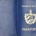 Pasaporte cubano analizado como parte de la investigación de tráfico de migrantes. Foto: Ministerio del Interior de Uruguay vía radiomontecarlo.com.uy