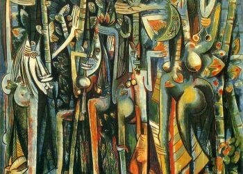 """La jungla"", Wifredo Lam, 1943."