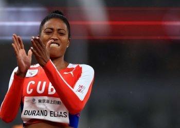Omara Durand logró tres medallas de oro en los Paralímpicos de Tokio 2020. Foto: Getty Images/ olympics.com