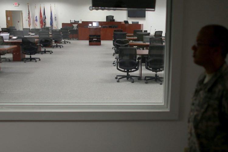 La sala del juicio de Guantánamo. | Foto: Joe Raedle / Getty