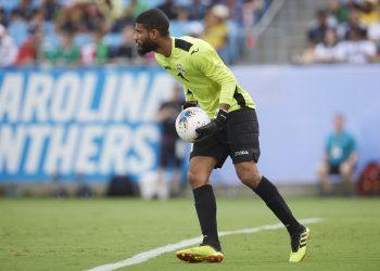 El portero Sandy Sánchez, uno de los jugadores que integraran en equipo Cuba contra Nicaragua. Foto: concacaf.com
