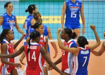 Selección cubana de Voleibol femenino. Foto: deportecubano.com/Archivo.