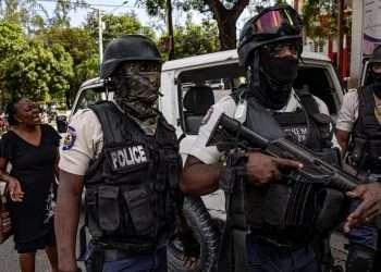 La policía haitiana desencadenó una búsqueda general de los secuestrados en Puerto Príncipe | Foto: Reuters