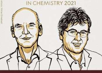 El premio al británico MacMillan y al alemán List es el más reciente entre los galardones científicos de la ronda de los Nobel. Imagen: twitter.com/nobelprize