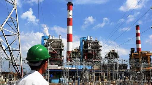La termoeléctrica Carlos Manuel de Céspedes, ubicada en Cienfuegos. Foto: Acn.