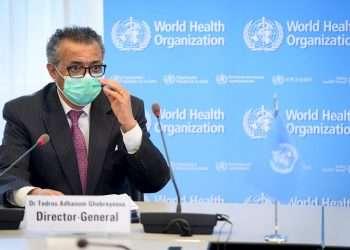 El director general de la OMS, Tedros Adhanom Ghebreyesus en una imagen de archivo. Foto: EFE/EPA/Laurent Gillieron.