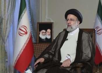 El presidente de Irán, Ebrahim Raisi. Foto: AP.