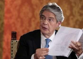 El presidente de Ecuador, Guillermo Lasso. Foto: El Universo.
