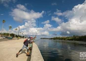 Malecón de La Habana, una de las nueve provincias que menos casos reportaron este día. Foto: Otmaro Rodríguez.