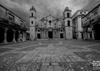 La Santísima y Metropolitana Iglesia Catedral de La Habana. Foto: Otmaro Rodríguez