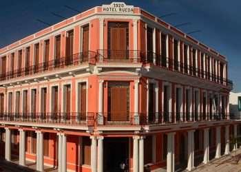 Hotel Rueda. Foto: Agencia Cubana de Noticias (Acn).