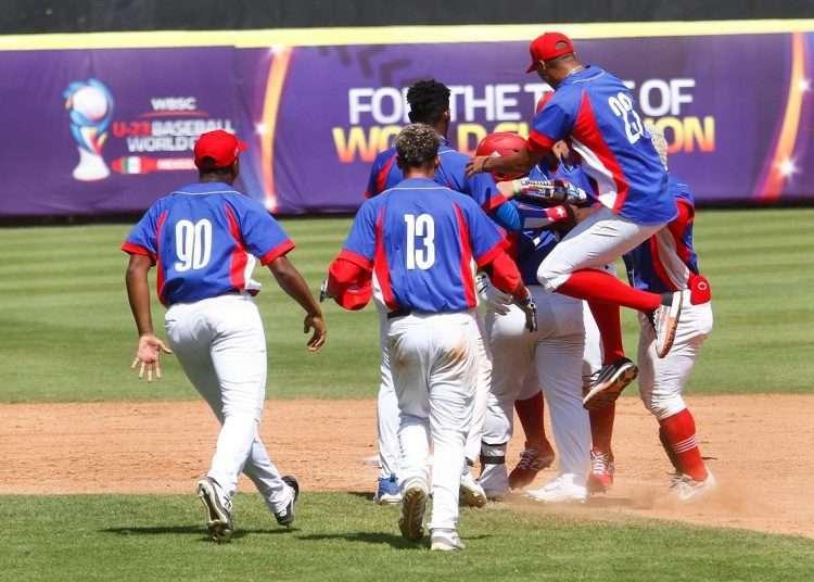 Cuba obtuvo el cuarto lugar en el Mundual Sub-23 de béisbol. Foto: WBSC