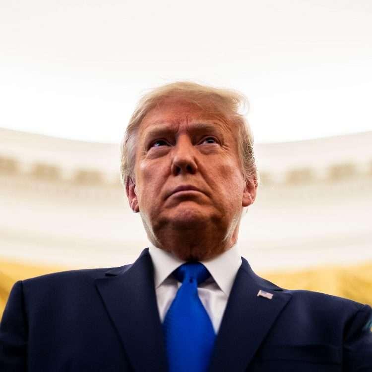El expresidente Donald Trump, en una imagen de archivo. Foto: AP / Archivo.