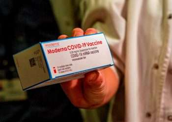 Vacuna de Moderna contra el coronavirus. Foto: EFE/ Cati Cladera/Archivo.