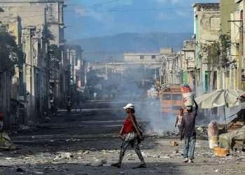 Puerto Príncipe, la capital haitiana. Foto: Al Jazera.
