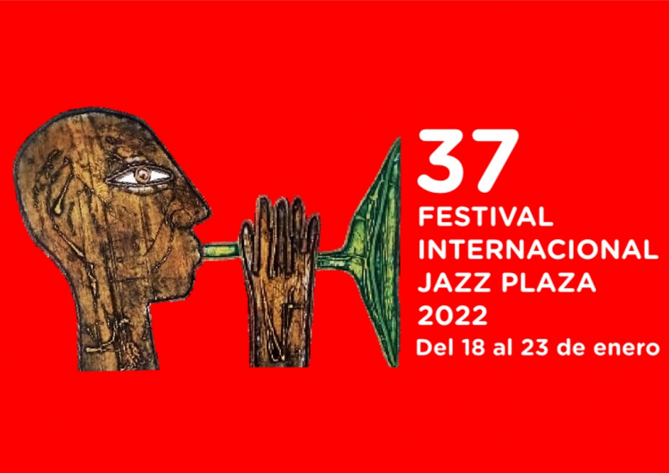 Trompeta china es la pieza de Eduarco Roca (Choco) que sirve como cartel promocional del evento. Foto: radiohc.cu