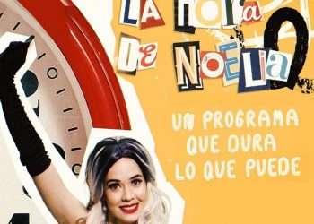 La hora de Noelia. Foto: tomada de su perfil en Instagram.