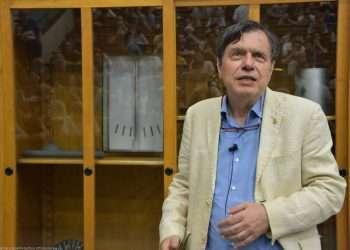 El científico italiano, Giorgio Parisi, uno de los Premios Nobel de Física 2021. Foto: twitter.com/NobelPrize
