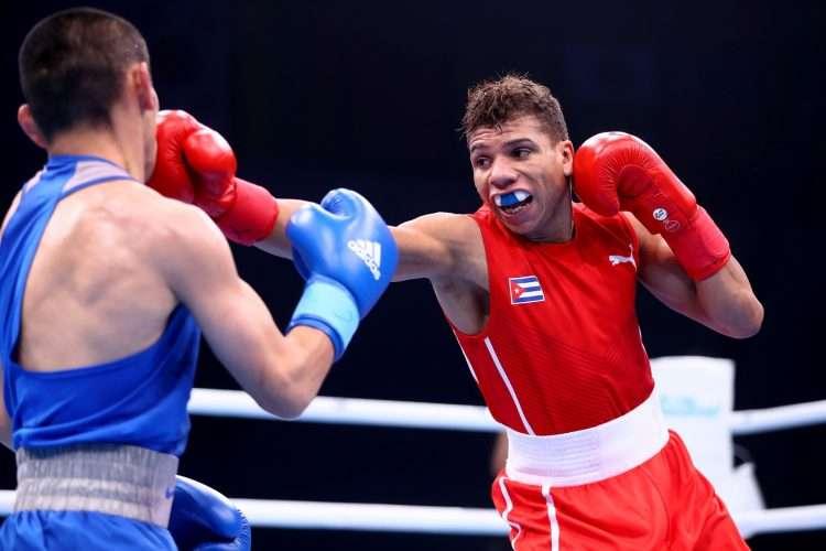 Yosbany Veitía no podrá aspirar a su cuarta medalla en citas mundialistas. Foto: Getty Images.
